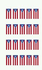 Puerto Rican Flag Nail art water decals Free shipping