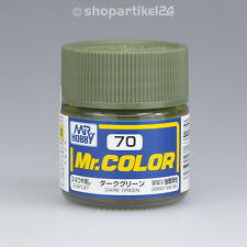 (26€/100ml) Mr.Color C70 Dark Green Dunkelgrün Tank WWII(3/4F)- Mr.Hobby GUNZE