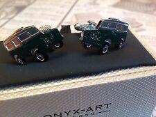 Land Rover Boutons de manchette by Onyx Art, Anniversaire De Mariage