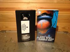 EAST West futuro FLAVAS Estate 2001 RARA VHS Video