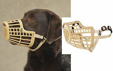 Guardian Gear DOGS Quick Fit&Release Training Safety HEAVY DUTY BASKET MUZZLE*XS