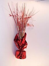 Red White Table Foil Hearts Party Centerpiece Valentines Day Decoration Wedding