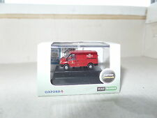 Oxford FT002 NFT002 N Gauge 1/148 Scale Ford Transit Royal Mail Post Office Red