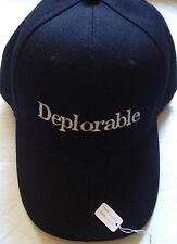 Republican MAKE AMERICA GREAT AGAIN HAT Donald Trump DEPLORABLE 2016 EMBROIDERED