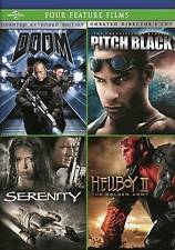 Doom, Pitch Black, Serenity,  Hellboy II: The Golden Army Four Feature Films New