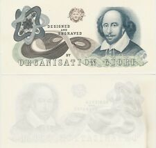 Proofnote Specimen De La Rue Giori William Shakespeare