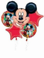 Anagram MICKEY MOUSE CLUBHOUSE HAPPY BIRTHDAY BALLOON BOUQUET 5 Balloon Red Star