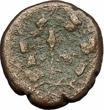 ELAIA in AEOLIS 2-1CenBC Demeter Torch Authentic Ancient Greek Coin i50572