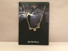 Brand New Bio World Harry Potter Golden Snitch Necklace