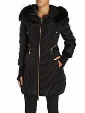 Luxurious Relish Buyt/E Black Down filled Jacket/Coat size M/UK 10 BNWT RRP £200