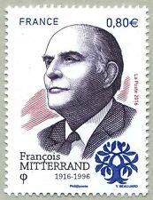 France 2016 François Mitterrand birth centenary French President political man 1