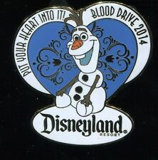 DLR Cast Member 2014 Blood Drive Olaf Disney Pin 99527