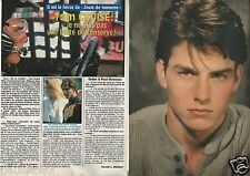 Coupure de presse Clipping 1990 Tom Cruise    (2 pages)