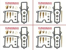 1980-83 Kawasaki carburetor CARB REPAIR KIT x4  kz550 gpz550 kz550ltd gpz kz 550
