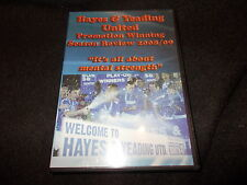 NEW DVD HAYES & YEADING UNITED Football Promotion Winning SEASON REVIEW 2008 09