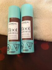 Loreal Root Cover Up MEDIUM BROWN 2 cans 2oz each