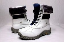 Ugg Womens Adirondack II White / Blue Color Snow Boots Size 5 US