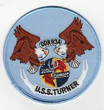 USS Turner DDR 834 - Eagles - Semper Excellere BC Patch Cat. No. C5600