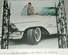 1958 Goodyear Tire ad, Double Eagle Chrysler Imperial