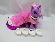 2006 G3 My Little Pony LILY LIGHTLY Princess UNICORNIA Light Up Tested W/ SHOES!