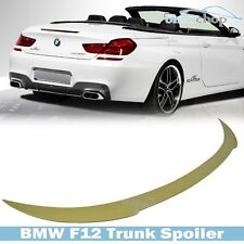 Painted BMW 6 Series F12 Convertible V Type Trunk Rear Spoiler Wing 2011-2015●