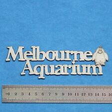 Chipboard A2Z Scraplets Melbourne Aquarium GR