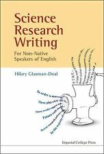Science Research Writing : A Guide for Non-Native Speakers of English by...