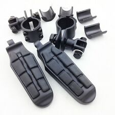 "New 1"" 1.25"" Highway rider Clamp Foot pegs for H-D Sportster 883 xl1200 1340"