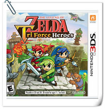 3DS Nintendo The Legend of Zelda: TriForce Heroes Action Adventure Nintendo