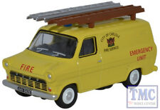 76FT1004 Oxford Diecast OO Gauge Ford Transit Mk1 City of Carlisle Fire Service