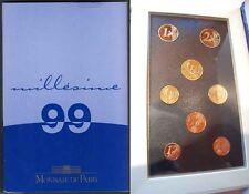 1 Cent bis 2 Euro 1999,2000,2001 Frankreich Offizielle Kursmünzensätze PP