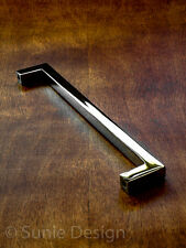 """Pack of 25, Elegant Simple 6-5/8"""" Polished Chrome Kitchen Cabinet Handle Pull"""
