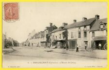 cpa CESNY BOIS HALBOUT en 1904 (Calvados) Route de Caen ATELIER de CHARRON Roues
