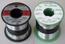 Water Soluble Solder (2) - 1 Lead (Kester SN63PB37) and 1 Lead Free (FCT SN100C)