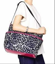NWT KATE SPADE New York Daycation SerenaLeopard  Baby Diaper Bag Multi-Color