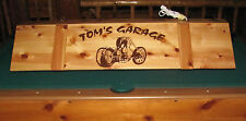 Custom Chopper Motorcycle Pool Table Poker Billiards Light  Shop Garage Man Cave