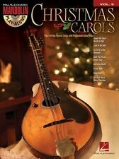 Mandolin Play-Along Christmas Carols Tunes Play Xmas Songs Music Book & CD