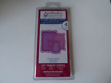 Spellbinders nestabilities decorative labels eight S5-148,4 dies new