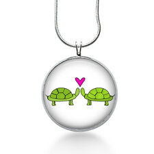 Turtle Love Necklace - Love Gift - Gifts for Her - Jewelry
