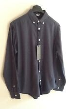 "MENS FIRETRAP NAVY SHIRT M (chest 44-46"")BNWT"