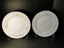 "Fine China of Japan Golden Harvest Bread Plates 6 1/4"" MS TWO  EXCELLENT!"