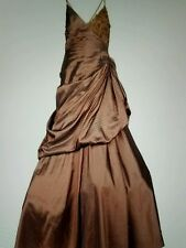 PAOLA D'ONOFRIO Ball Gown Dress Made in Italy Size : IT50/US12