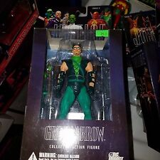 "DC Direct, Alex Ross Justice, Green Arrow, 7"" Action Figure, Complete"