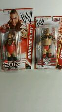 WWE TENSAI SUPERSTAR#28 BRODUS CLAY ACTION FIGURES BUNDLE(032)