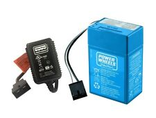 Power Wheels Lil Enforcer Jeep Battery and Charger - NEW, GENUINE