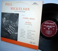 PAUL MICKELSON ON THE CBS PIPE ORGAN HOLLYWOOD LP