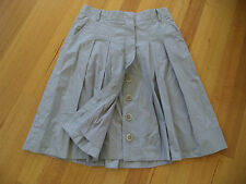 COUNTRY ROAD GREY PLEAT SKIRT SIZE 10 EXCELLENT CONDITION