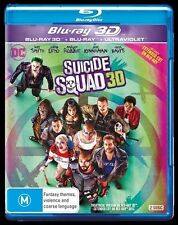 Suicide Squad 3D Blu-ray ONLY NO 2D or UV, (2016) BRAND NEW NOT WRAPPED