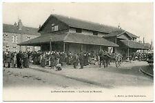 LA FERTé SAINT-AUBIN. LA PLACE DU MARCHé. LOIRET 45.