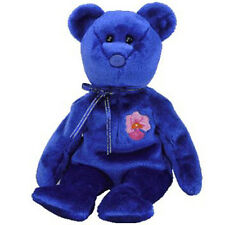 TY Beanie Baby - VANDA the Bear (Singapore Exclusive) (8.5 inch) - MWMTs